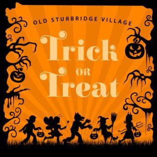 Village Trick or Treat logo