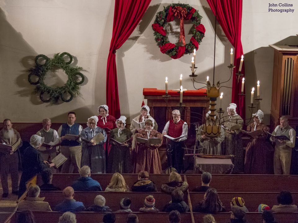 Old Sturbridge Singers perform in the Center Meetinghouse