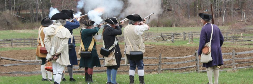 Patriots' Day - The Militia shoots their guns