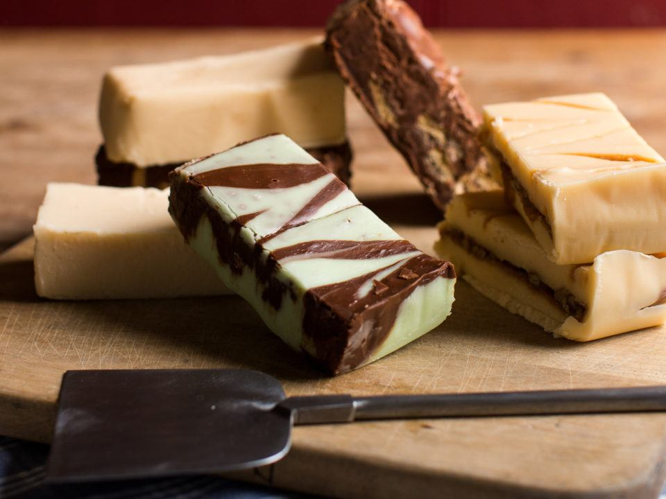 Indulge your sweet tooth with some of our house-made fudge.