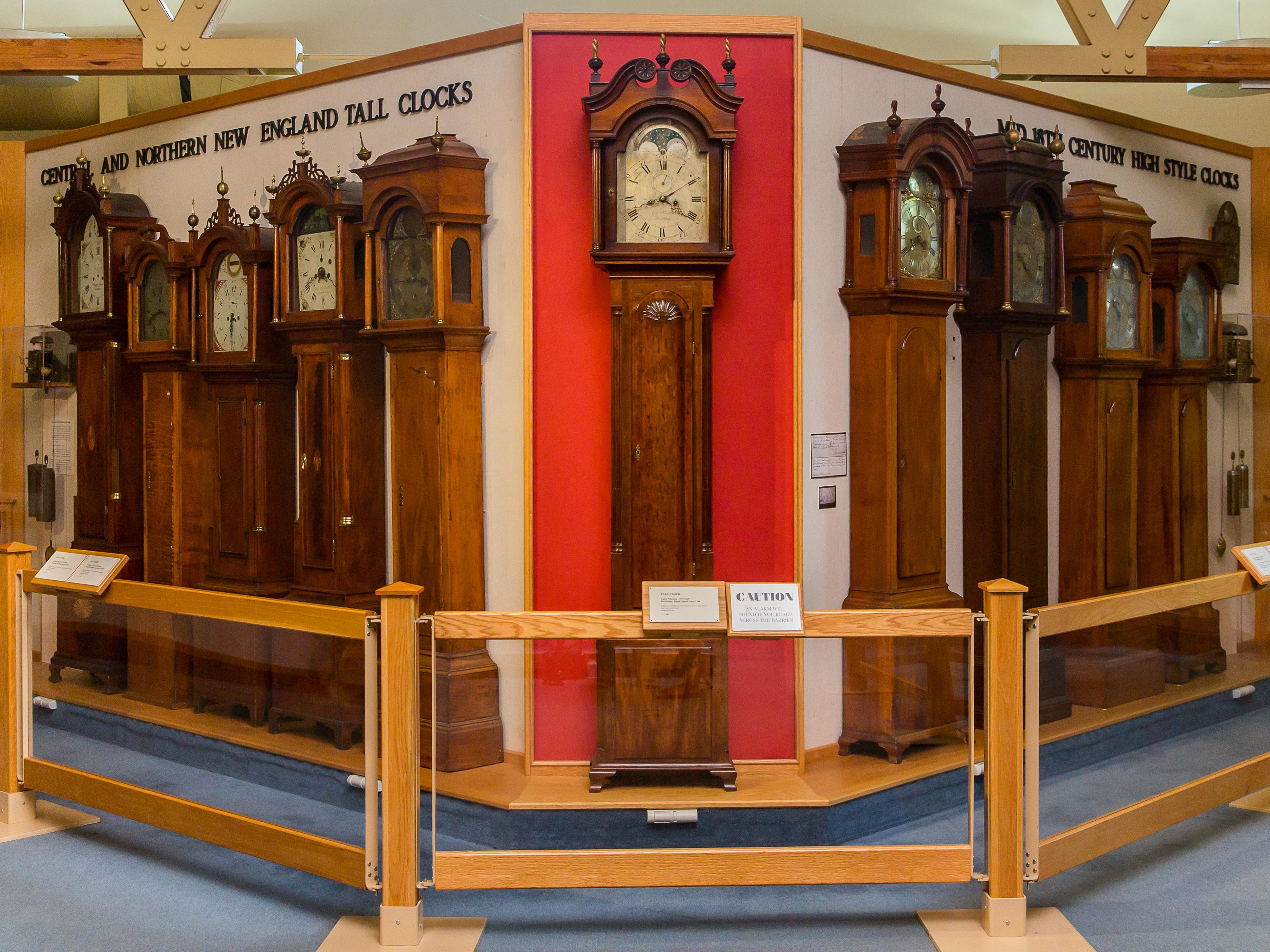 The Clock Gallery at Old Sturbridge Village