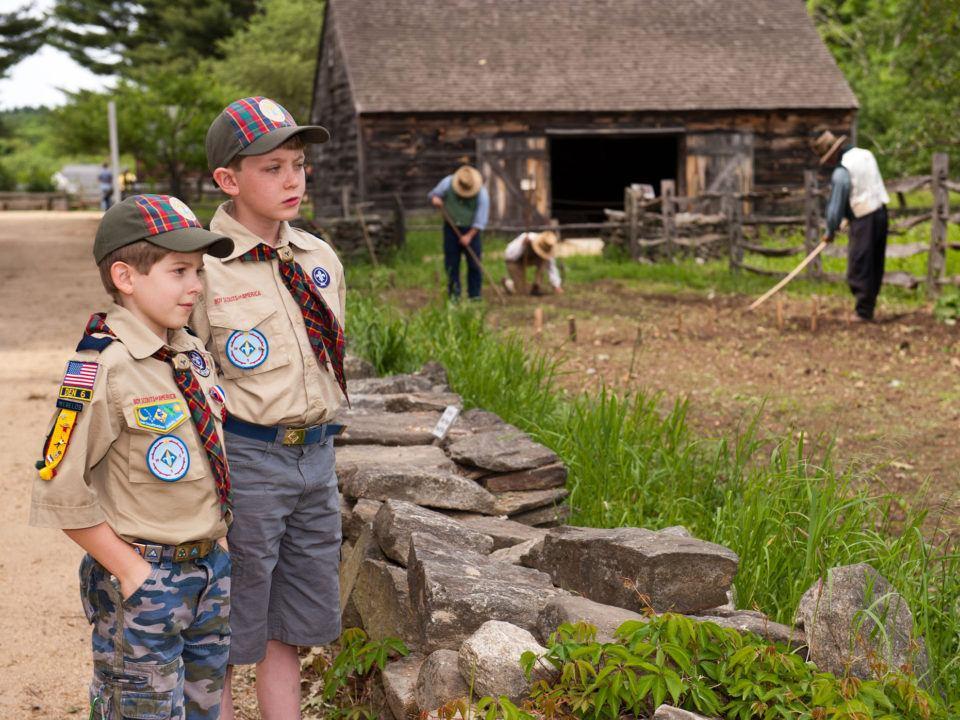 Scouts - Old Sturbridge Village