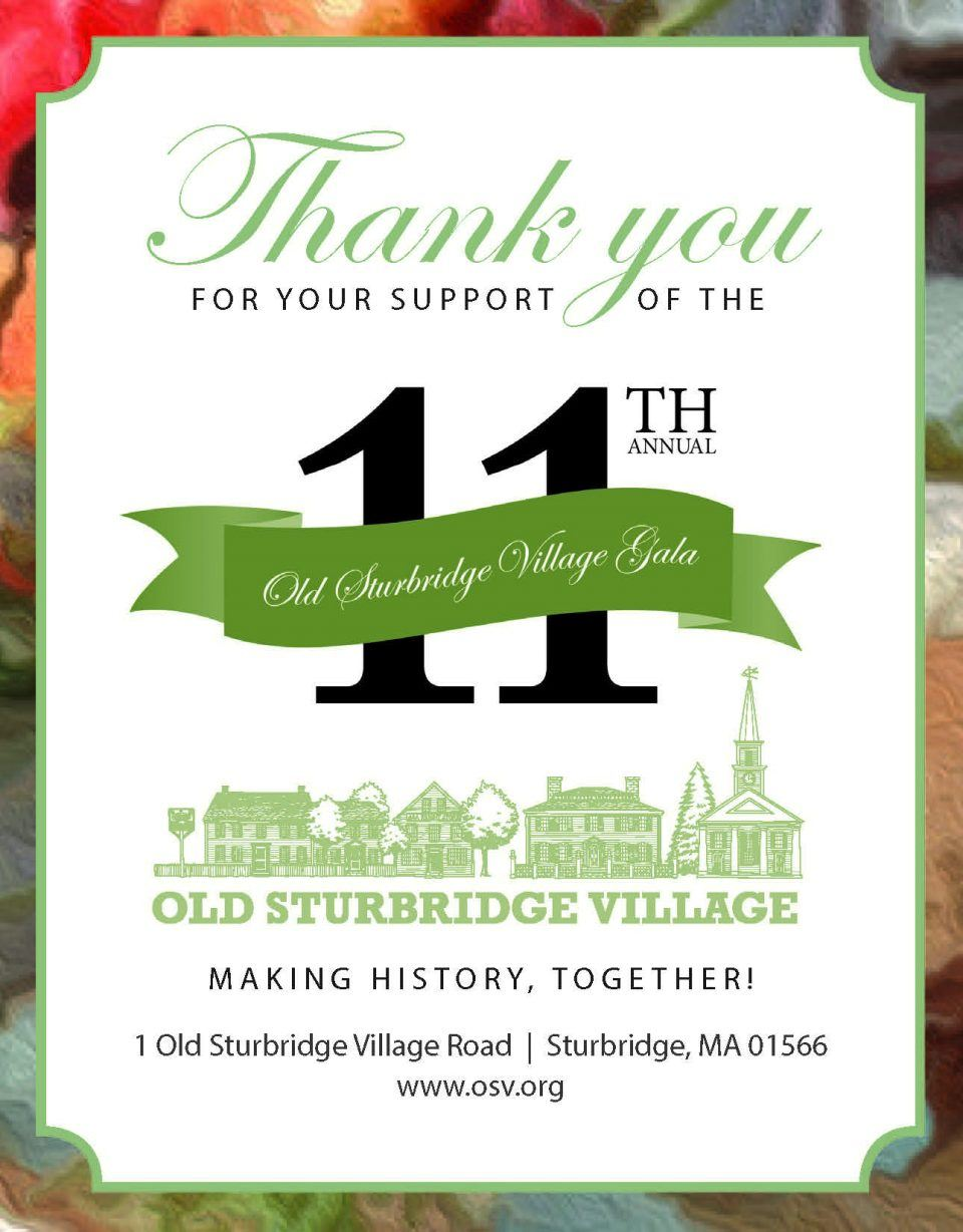 Thank you for supporting the 11th annual gala