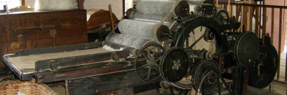 Carding Machine in the OSV Collections