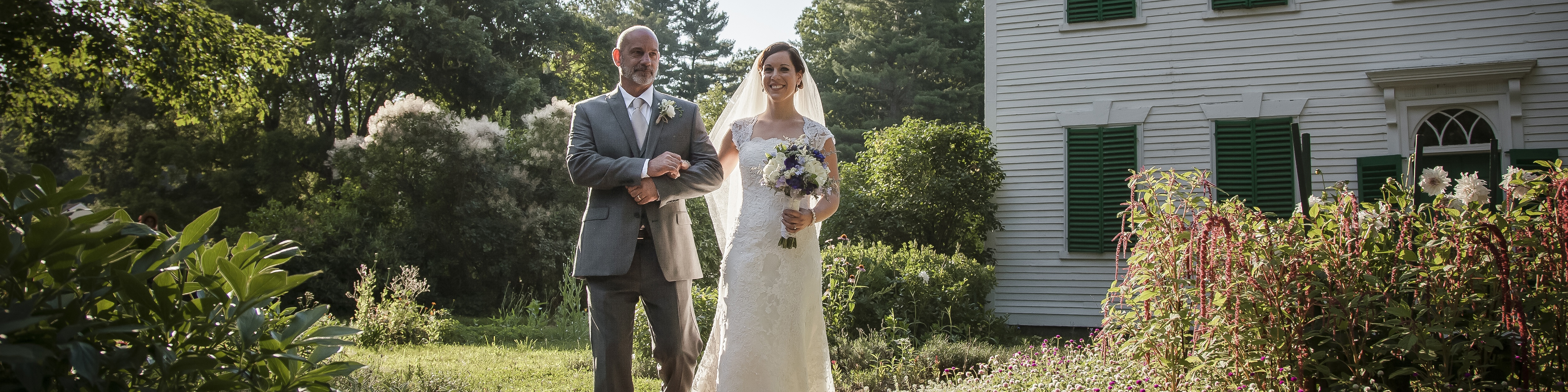 A wedding at Old Sturbridge Village