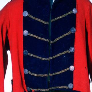 A military uniform from the OSV collections