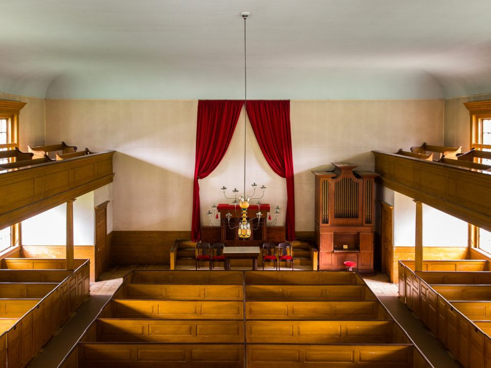 Center Meetinghouse Interior
