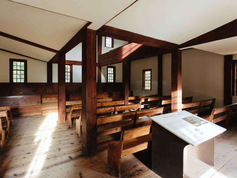 Friends Meetinghouse Interior