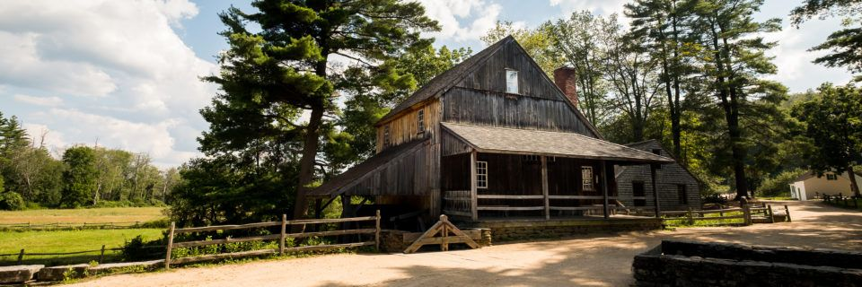 Grist Mill Exterior