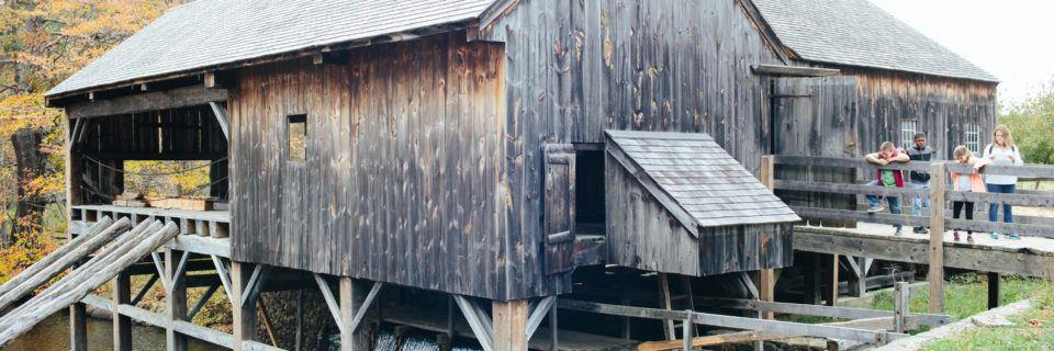 Sawmill Exterior