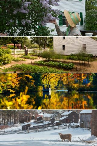 Old Sturbridge Village in every season