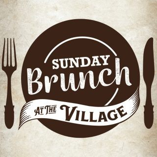 Sunday Brunch at the Village logo