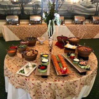 A selection of foods available at Sunday Brunch
