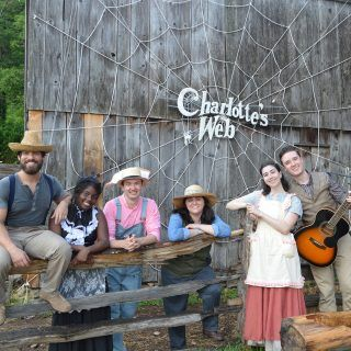 The cast of Charlotte's Web