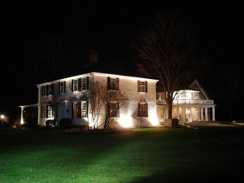 Salem Cross at Night