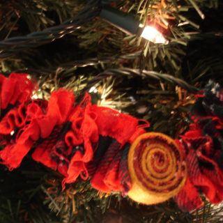 Woolen Xmas ornament
