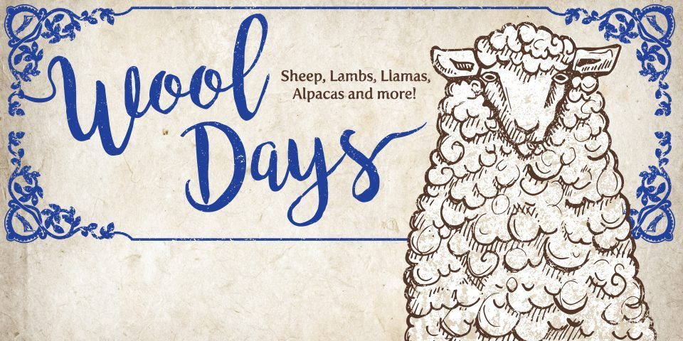 Wool Days is Memorial Day Weekend