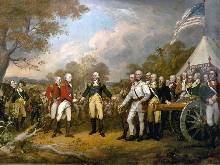A Painting of the American Revolution