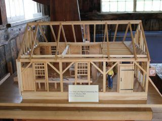 Model of the new Cabinet Making Shop Coming Soon