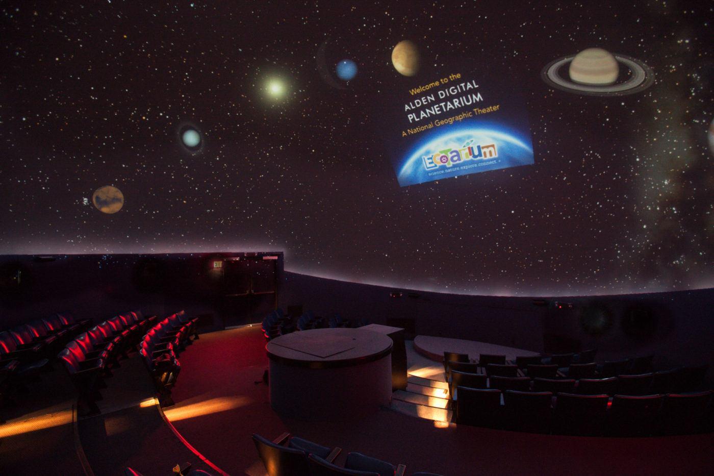 The Planetarium at EcoTarium