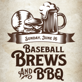 Baseball, Brews, and BBQ logo