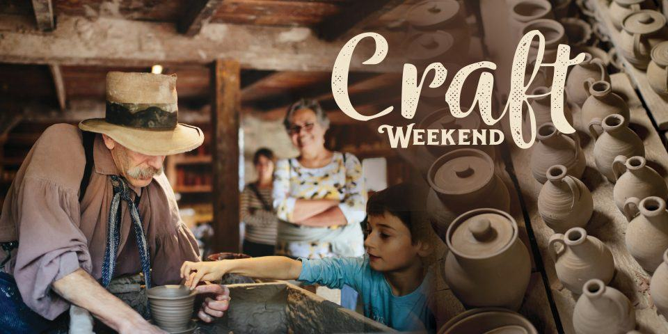 Craft Weekend at OSV | A Potter at work