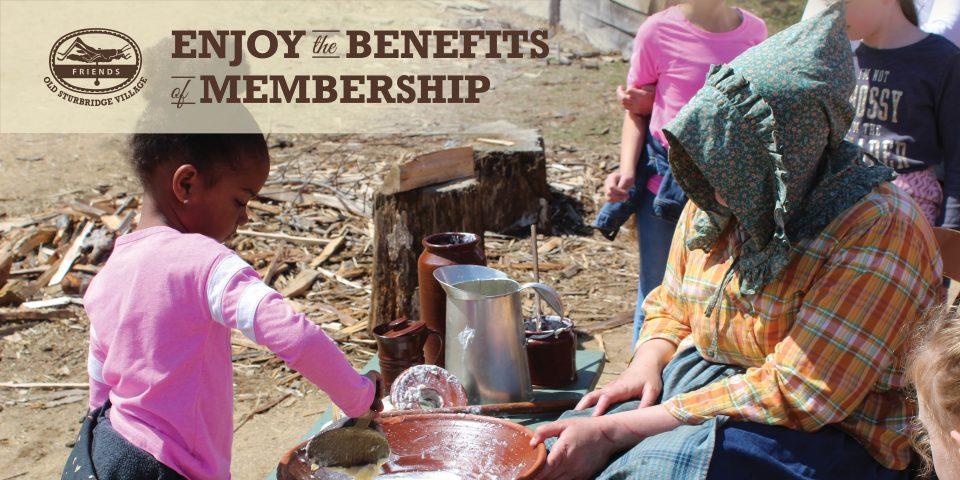 Enjoy the benefits of membership!