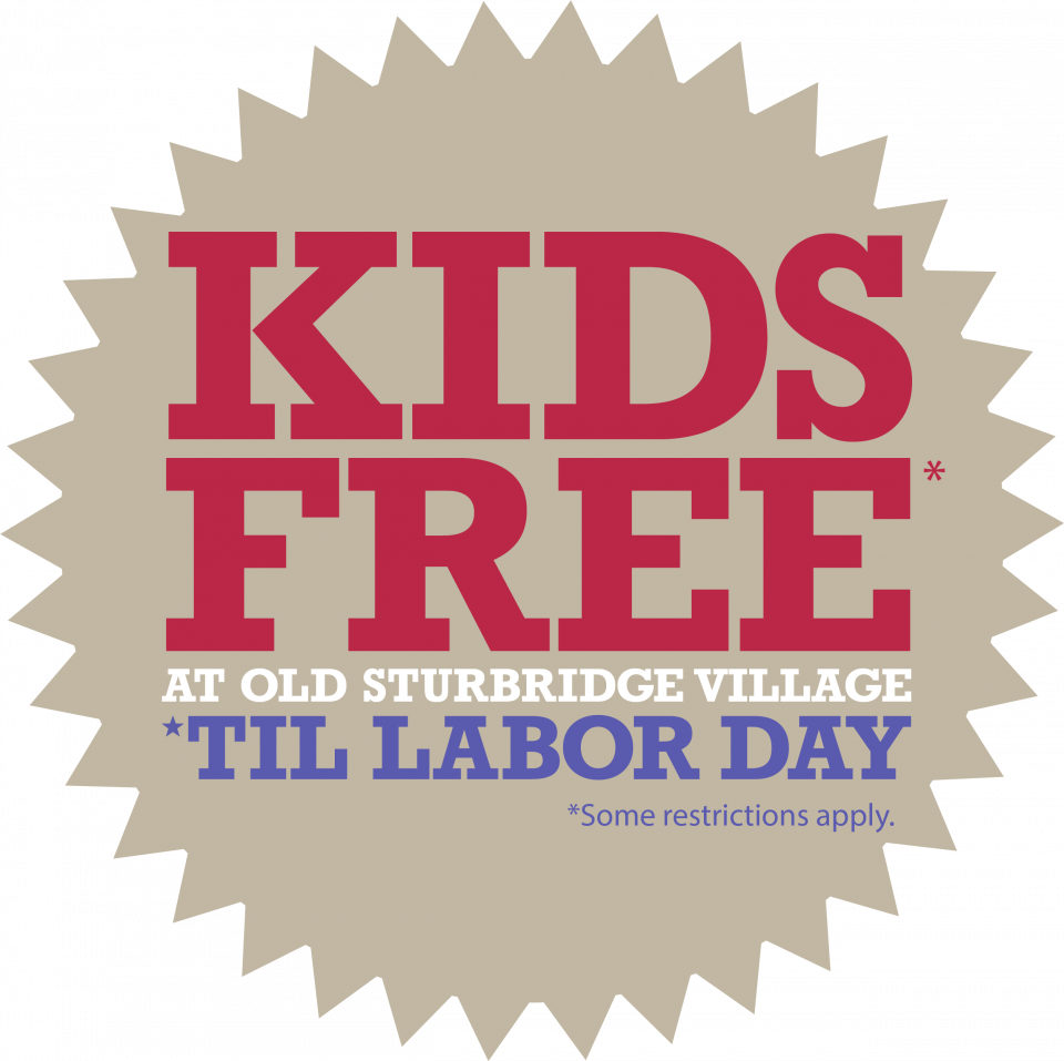 Kids Free at OSV Through Labor day