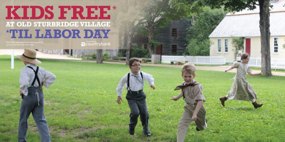 Kids Free Through Labor Day
