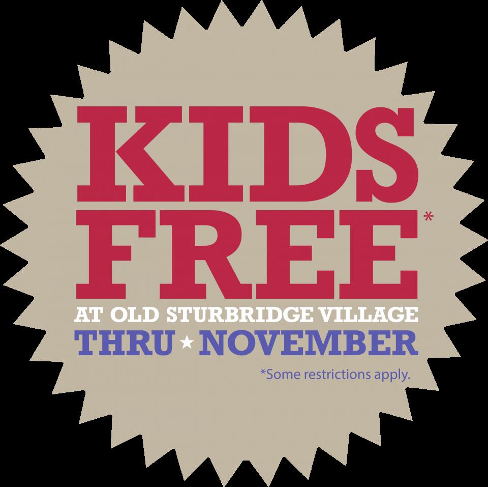 Kids Free Thru November