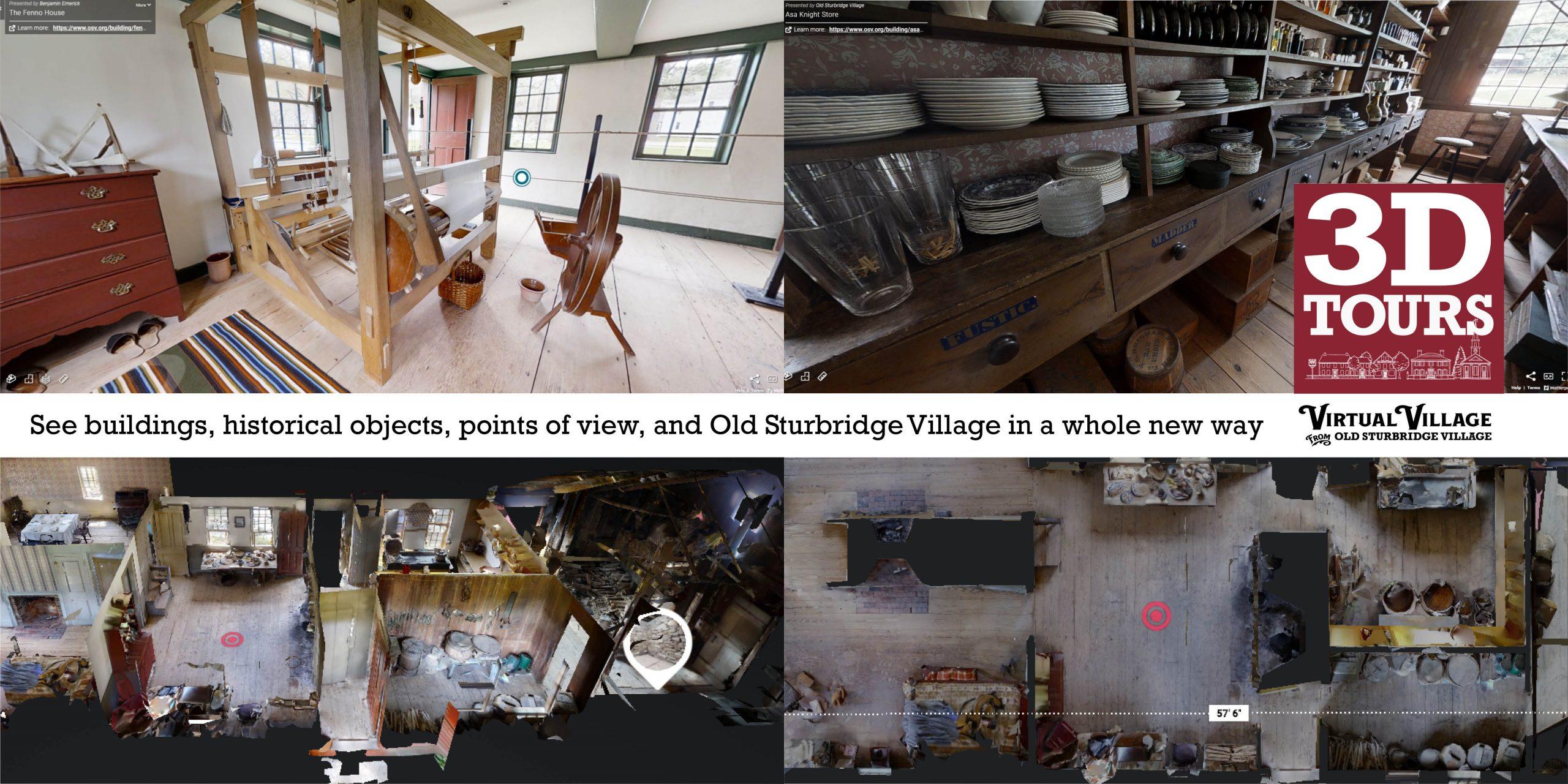 Screenshots from 3D Tours