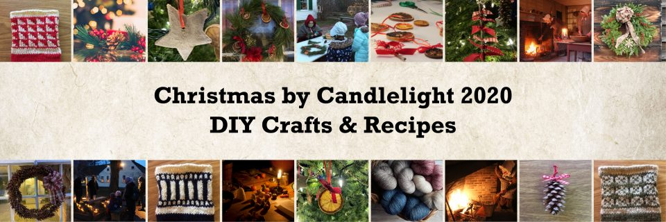 Christmas by Candlelight 2020 DIY Crafts and Recipes