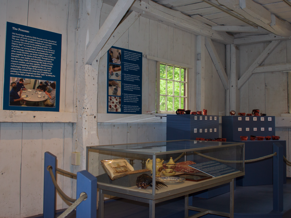 2021 Old Sturbridge Academy Pottery Exhibit