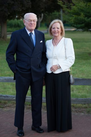Penny Dewar and Geof Booth