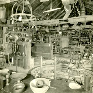 A view of AB Wells' collection