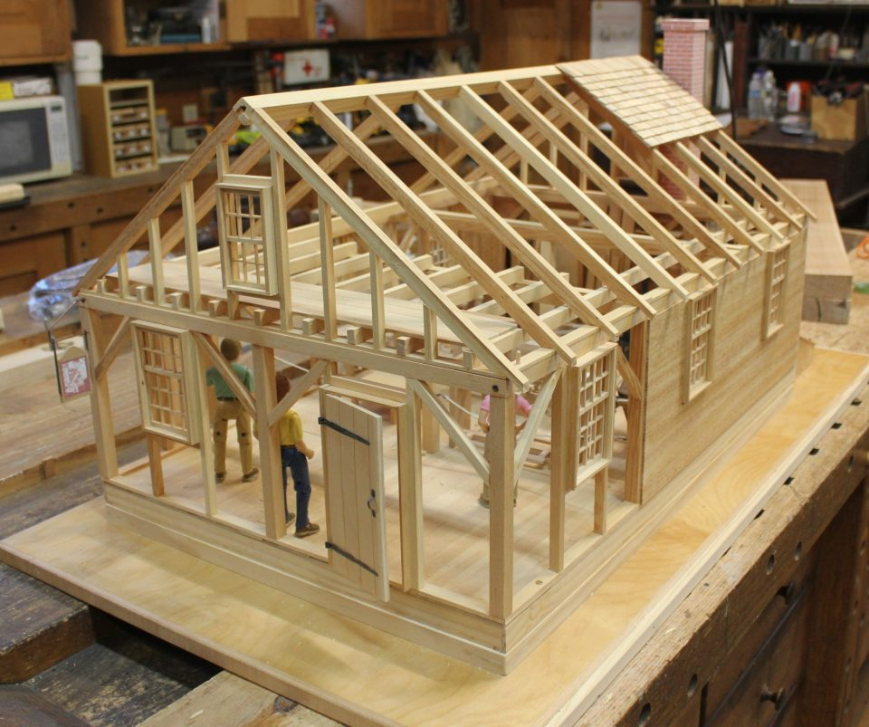Scale Model of the Cabinetmaking Shop